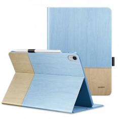 Husa de Protectie ESR Simplicity pentru Apple iPad Air 3 2019 Smart Sleep & Pen Slot Albastru