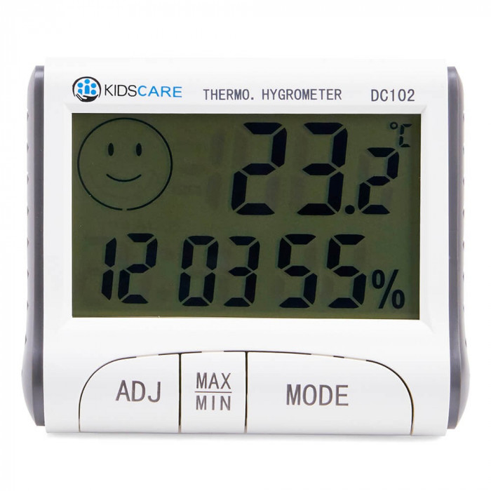 Termometru si higrometru KidsCare DC102 for Your BabyKids