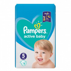 Pampers Active Baby Small Pack - nr.5, 11 buc