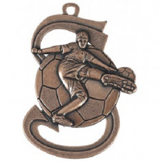 Medalie Fotbal Bronz cu 3,9*5,9 cm