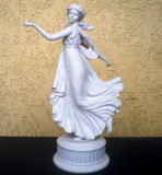 "O.023 STATUETA ""THE DANCING HOURS"" PORTELAN FIN WEDGWOOD EDITIE LIMITATA NR. 659"
