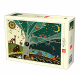 Cumpara ieftin Puzzle Nature Day and Night, 1000 piese