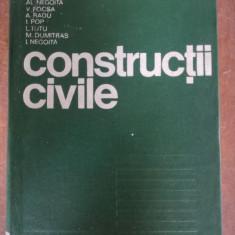 Constructii civile- Al. Negoita, V. Focsa