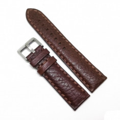 Curea de ceas Maro din piele naturala bizonata - 18mm, 20mm, 22mm - WZ3592