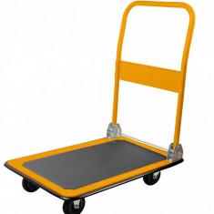 Carucior de mana pliabil cu platforma max. 300 kg