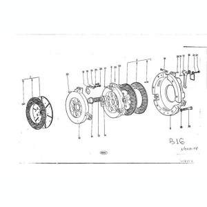 Stift impingator lung Tractor U445 TIH U300 302 IF 40.16.119