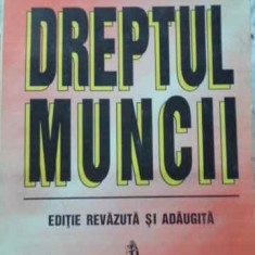 DREPTUL MUNCII - SANDA GHIPMU, ALEXANDRU TICLEA