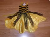 costum carnaval serbare albina albinuta pentru copii de 1-2 ani 12-18 luni