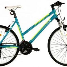 Bicicleta Dama DHS Contura 2666, Cadru 19.5inch (Verde)