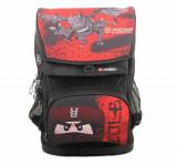 Cumpara ieftin LEGO Ninjago, Ghiozdan scoala Maxi cu sac sport Earth Dragon