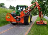 Tocator freza cu brat hidraulic pana la 6m lungime de lucru Agrimaster
