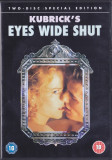 DVD: Eyes Wide Shut (r: Stanley Kubrick, original, 2 discuri , sub. lb.engleza )