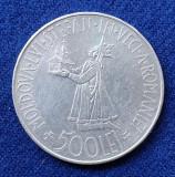 Moneda din argint 500 Lei 1941 Regele Mihai