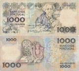 1992 (6 II), 1,000 Escudos (P-181i.2) - Portugalia