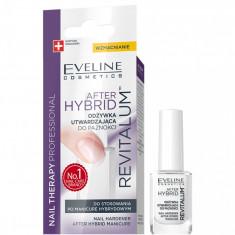 Tratament unghii Eveline Cosmetics After Hibrid revitallum 12ml