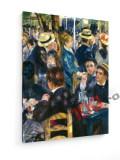Tablou pe panza (canvas) - Auguste Renoir - Galette Mill - Detail