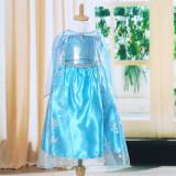 Rochita Elsa FROZEN clasica. Fete 3-7 ani