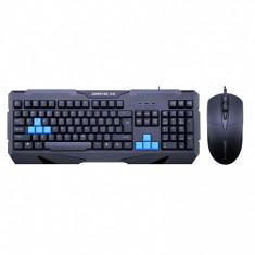 Kit Gaming ZornWee Resident Evil, Tastatura USB, Mouse 2400dpi