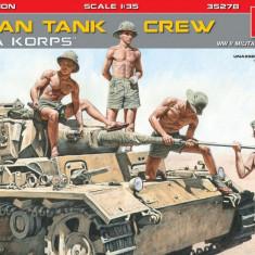 "1:35 German Tank Crew ""Afrika Korps"", Special Edition - 5 figures 1:35"