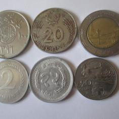 Lot 6 monede colectie,vedeti foto
