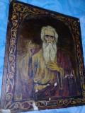 Icoana veche pictata pe lemn,icoana Frumoasa cu uzura,pozele reflecta realitatea