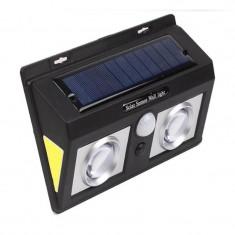 Lampa solara cu senzor de miscare CL-5066, LED COB, 2400 mAh