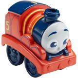 Locomotiva Fisher-Price Thomas si prietenii James cu tractiune