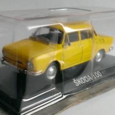 Macheta Skoda 100 1970 - DeAgostini Masini de Legenda 1/43