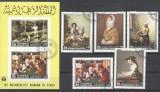 Yemen 1968 Paintings, set+ sheet, used AL.028