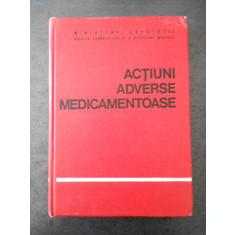 GH. PANAITESCU - ACTIUNI ADVERSE MEDICAMENTOASE