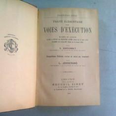 TRAITE ELEMENTAIRE DES VOIES D'EXECUTION - E. GARSONNET
