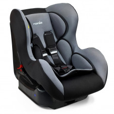 Scaun auto pentru copii Nania, 42 x 46 x 60 cm, Gri