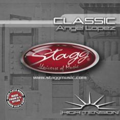 Set corzi nylon chitara clasica tensiune mare Stagg CL-HT-AL