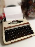 Vintage Masina de scris in cutie ,Smith Corona Viceroy De-Luxe