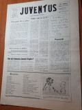ziarul juventus 8 martie 1990-ziar aparut in pitesti,articole despre pitesti