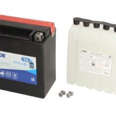 Baterie moto AGM fara intretinere EXIDE 12V 14Ah 215A L+ 150x87x161 Incarcare uscata cu acid