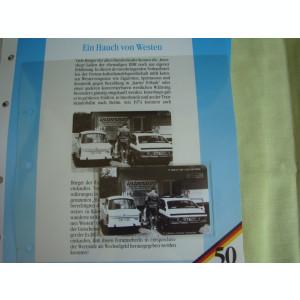 3 Cartele Telefonice 50 Jahre Deutschland - Exponate NOI / 22