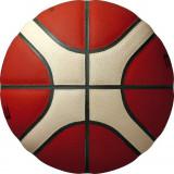 Minge baschet Molten B6G5000, FIBA OFFICIAL GAME BALL, piele naturala, marime 6