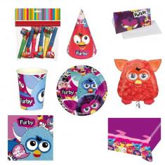 Pachet party Furby, Radar Furby, set 56 piese