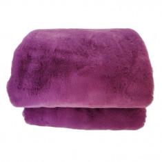 Patura de blana, violet, 150x180, RABITA NEW TYP 6