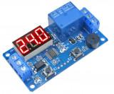 Releu de temporizare timer cu afisaj 0.1 - 999 sec