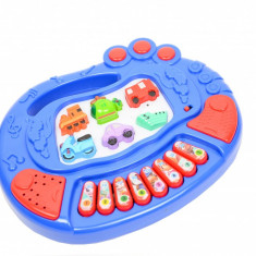 Pianina pentru copii - jucarie cu sunete si lumini 3191F
