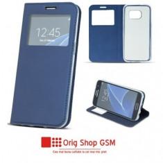 Husa Flip Carte Smart Look Samsung G970 Galaxy S10e Blue
