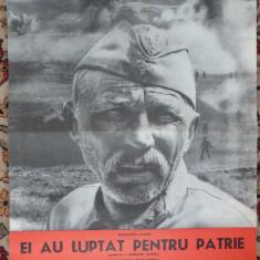 Afis film , Ei au luptat pentru patrie de Serghei Bondarciuk ,1975 , nota 8 IMDB