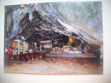 HOPCT 74363 BAZILICA SANCTUAR SF MIHAIL -PESTERA APARITIEI -ITALIA-NECIRCULATA, Printata