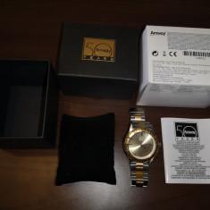Ceas aurit Amway editie limitata, 50 de ani de Amway, cutie originala