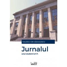 carte pdf   Jurnalul unui student la F.F. - Valeriu Ion Găgiulescu   Ebook