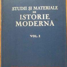 Studii Si Materiale De Istorie Moderna - Institutul De Istorie ,301744