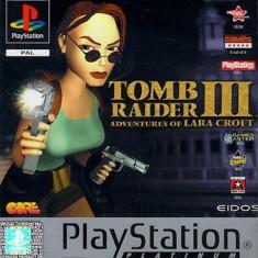 TOMB RAIDER III - The adventures of Lara Croft PLATINUM  - PS1 [Second hand], Single player, Actiune, 12+