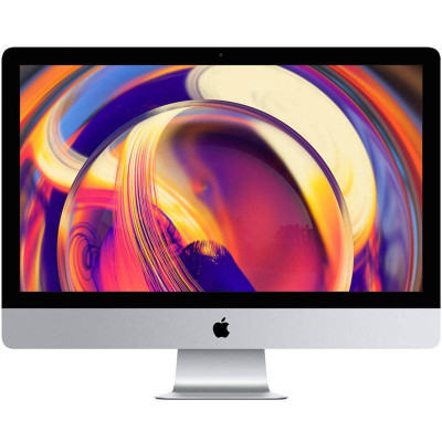 Sistem All in One Apple iMac 27 inch Retina 5K Intel Core i5 3.7 GHz Hexa Core 8GB DDR4 2TB Fusion Drive HDD AMD Radeon Pro 580X 8GB Mac OS Mojave RO foto